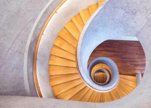 escalier hélicoïdal 2