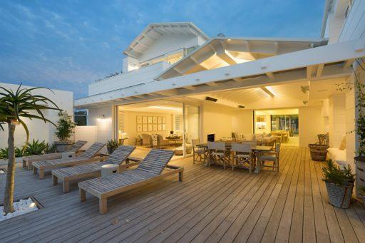 Maison bois et beton