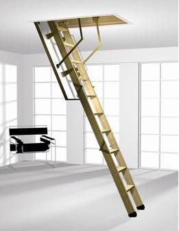 escalier escamotable pratique