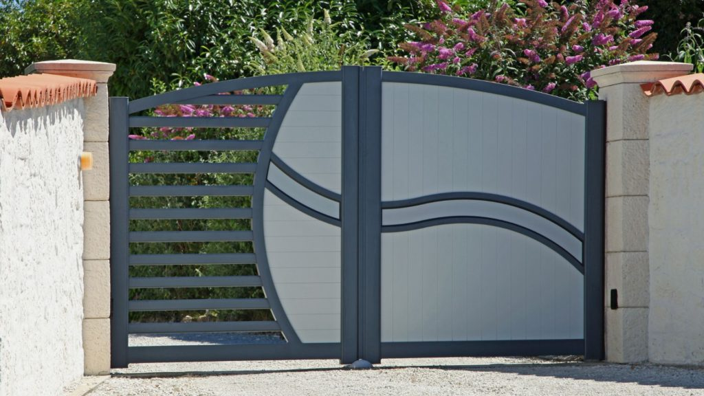 portail en aluminium 2