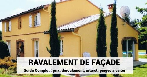 Ravalement De Facade Prix Deroulement Interet Pieges A Eviter