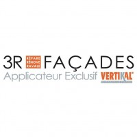 Logo 3R FAÇADES - Applicateur Exclusif VERTIKAL®