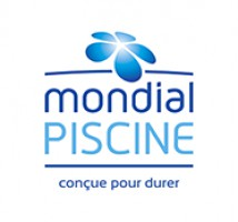 Logo Mondial Piscine Reims by AD Piscines