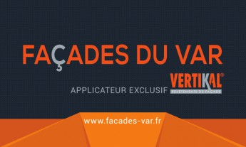 Logo Façades du Var - Applicateur Exclusif VERTIKAL