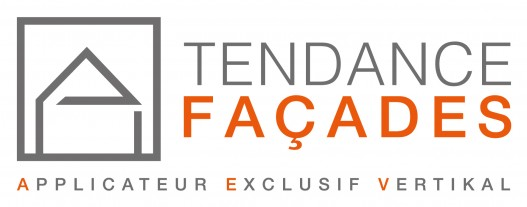 Logo TENDANCE FACADES - Applicateur Exclusif VERTIKAL