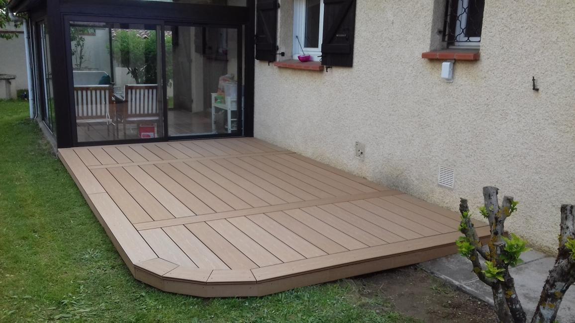 ossature bois terrasse with ossature bois terrasse affordable terrasses de et m presque. Black Bedroom Furniture Sets. Home Design Ideas