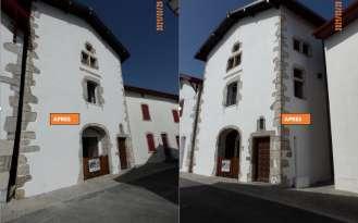 Rénovation de façades Ravalement de façades Anglet FAÇADES BASQUES - Applicateur Exclusif VERTIKAL® Monique