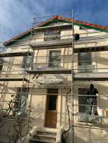 Façadier - Rénovation de façades - Tous types Ravalement Saint-Maur-des-Fossés FAÇADE DU ROY - Applicateur Exclusif VERTIKAL® Jean pierre