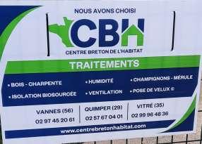 Isolation, ventilation, traitement de l'humidité, traitement des bois, Mérule Étrelles Centre Breton de l'Habitat  Serge