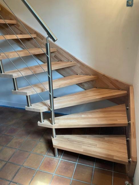 Créateur d'Escaliers Saint-Ouen-l'Aumône AVM Escaliers SEBASTIEN