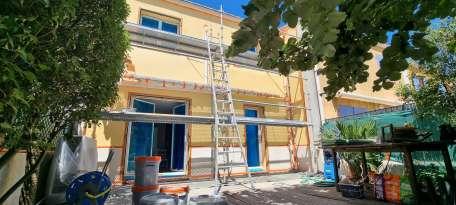 Ravalement de façades Le Pradet FAÇADES DU VAR - Applicateur Exclusif VERTIKAL® Térésa