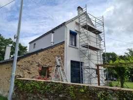 Rénovation de façades Nantes MISSION FAÇADES - Applicateur Exclusif VERTIKAL® stéphane