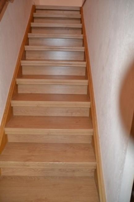 simple escalier blagnac relook escalier jol escalier. Black Bedroom Furniture Sets. Home Design Ideas
