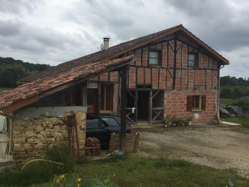 Rénovation de façades Hagetmau FAÇADES 40 - Applicateur Exclusif VERTIKAL Jean-François