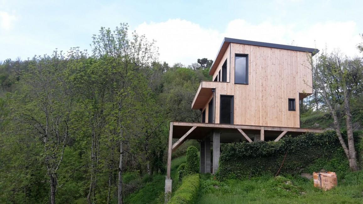 Avis sur maison ossature bois duune maison ossature bois for Cout construction neuf