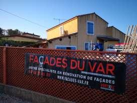 Ravalement de façades Pierrefeu-du-Var Façades du Var - Applicateur Exclusif VERTIKAL Nanarlacro