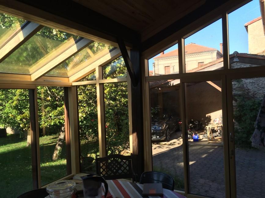 amenagement interieur d une veranda gallery of amnagement intrieur du salon et de la pice. Black Bedroom Furniture Sets. Home Design Ideas