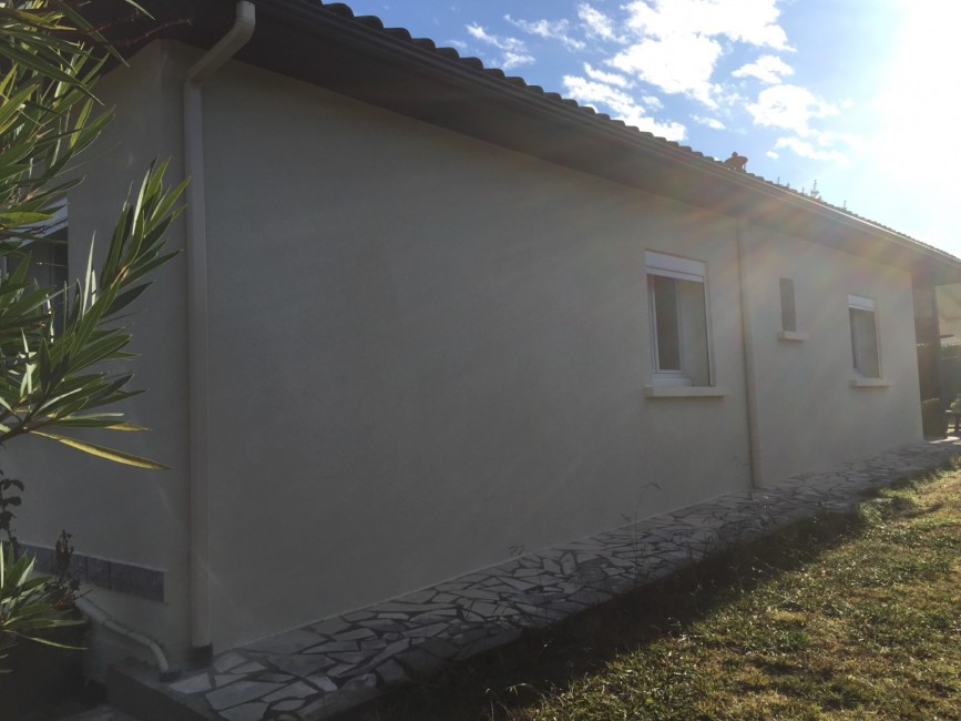 Rénovation de façades Hagetmau FAÇADES 40 - Applicateur Exclusif VERTIKAL A