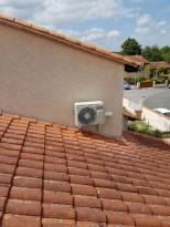 Installation climatisation reversible Hitachi Albi