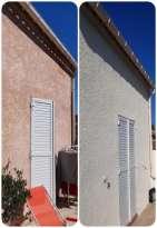 Ravalement de façades Pierrefeu-du-Var Façades du Var - Applicateur Exclusif VERTIKAL Thierry