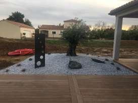 Création, entretien parcs & jardins, gazon synthétique, terrasse bois, sols perméable résine Gaillac Ambiance Paysage 81 - Fabien Manelphe Jean luc