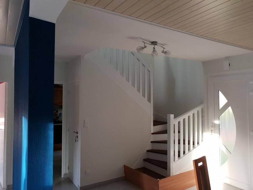 Peintre et rénovation façades Châteaulin Jolivet Peintures - Applicateur Exclusif VERTIKAL Sylvie