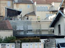 Façadier Ravalement de façade ITE Pulnoy ENDUIEST Nancy Façades et Isolation maison Emilie