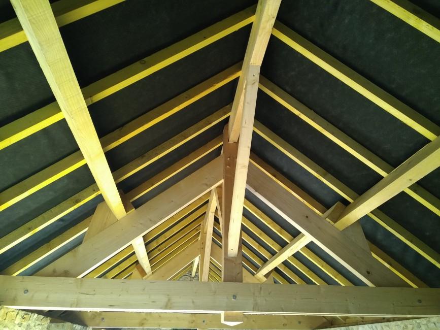 Charpente, extensions ossature bois Tiercé Morin Construction Bois Eric
