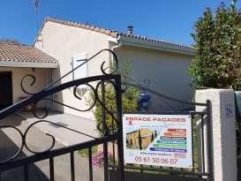 Rénovation de façades Ravalement de façades Toulouse ESPACE FAÇADES - Applicateur Exclusif VERTIKAL Patrick