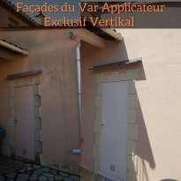Ravalement de façades Pierrefeu-du-Var Façades du Var - Applicateur Exclusif VERTIKAL Gérard