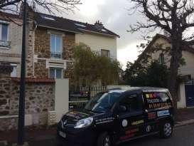 Façadier - Rénovation de façades - Tous types Ravalement Saint-Maur-des-Fossés Façade du Roy - Applicateur Exclusif VERTIKAL Jean Marc