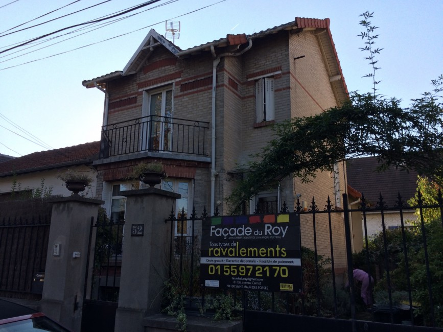 Façadier - Rénovation de façades - Tous types Ravalement Saint-Maur-des-Fossés Façade du Roy - Applicateur Exclusif VERTIKAL B