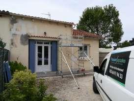 Rénovation de façades Saint-Georges-des-Coteaux Passion Façades - Applicateur Exclusif VERTIKAL Yves-Michel