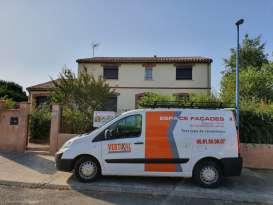 Rénovation de façades Ravalement de façades Toulouse ESPACE FAÇADES - Applicateur Exclusif VERTIKAL Véronique
