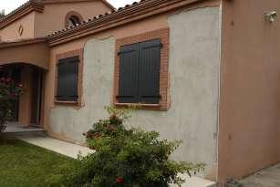 Rénovation de façades Ravalement de façades Toulouse ESPACE FAÇADES - Applicateur Exclusif VERTIKAL CHRISTIAN