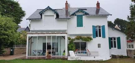 Rénovation de façades Ravalement de façades La Baule-Escoublac ROBIN FACADES - Applicateur Exclusif VERTIKAL edouard