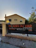 Ravalement de façades Pierrefeu-du-Var Façades du Var - Applicateur Exclusif VERTIKAL Kévin