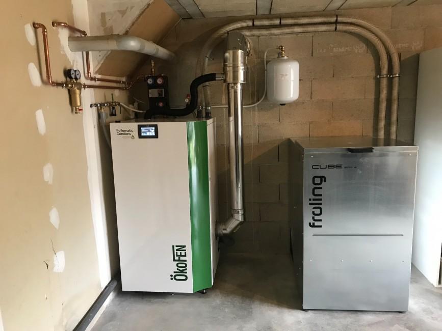 Chauffage Climatisation Energies renouvelables Neuvy Laurent Chauffage-SARL C2L Pauline