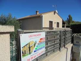 Ravalement de façade Castelnau-le-Lez LEZ FACADES - Applicateur Exclusif VERTIKAL Sylviane