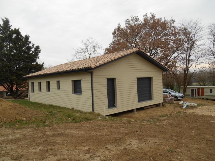 Maison ossature bois toulouse ventana blog for Constructeur de maison individuelle ossature bois