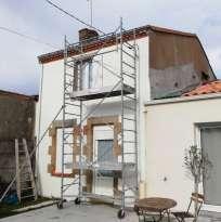 Ravalement de façades Vallet Horizons Façades - Applicateur Exclusif Vertikal Anita