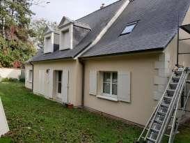 Rénovation de façades Preuilly-sur-Claise Turone Façades - Applicateur Exclusif VERTIKAL Olivier et Suzanne