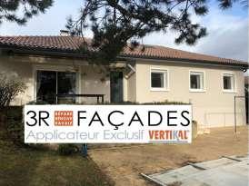 Rénovation de façades Chasselay 3R FAÇADES - Applicateur Exclusif VERTIKAL Raphaël