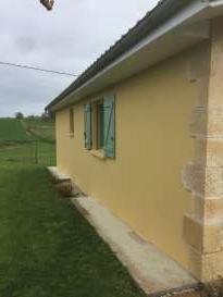 Rénovation de façades Hagetmau FAÇADES 40 - Applicateur Exclusif VERTIKAL Jean pierre