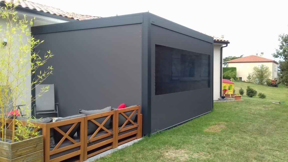 Avis photos et devis sur extend menuiserie veranda for Veranda sur garage