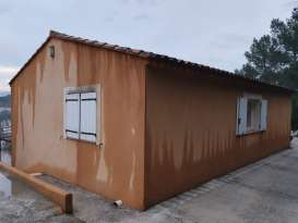 Ravalement de façades Pierrefeu-du-Var Façades du Var - Applicateur Exclusif VERTIKAL Franck