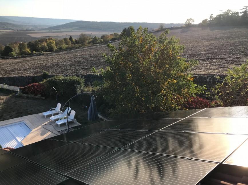 Installateur photovoltaïque Le Broc Auver Sol Avenir JG