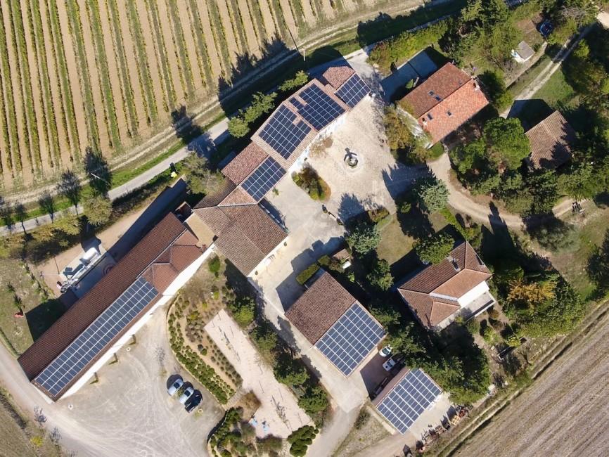 Installateur photovoltaïque Le Broc Auver Sol Avenir Domaine LA LOUVIERE