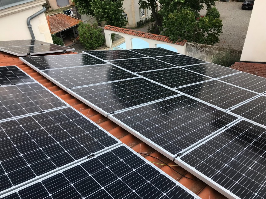 Installateur photovoltaïque Le Broc Auver Sol Avenir Gérard