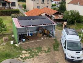 Installateur photovoltaïque Le Broc Auver Sol Avenir Laurent
